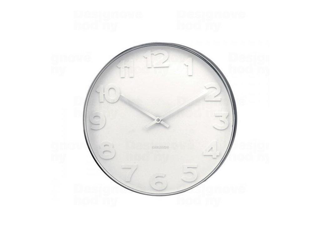 Designové nástěnné hodiny 4383 Karlsson 38cm