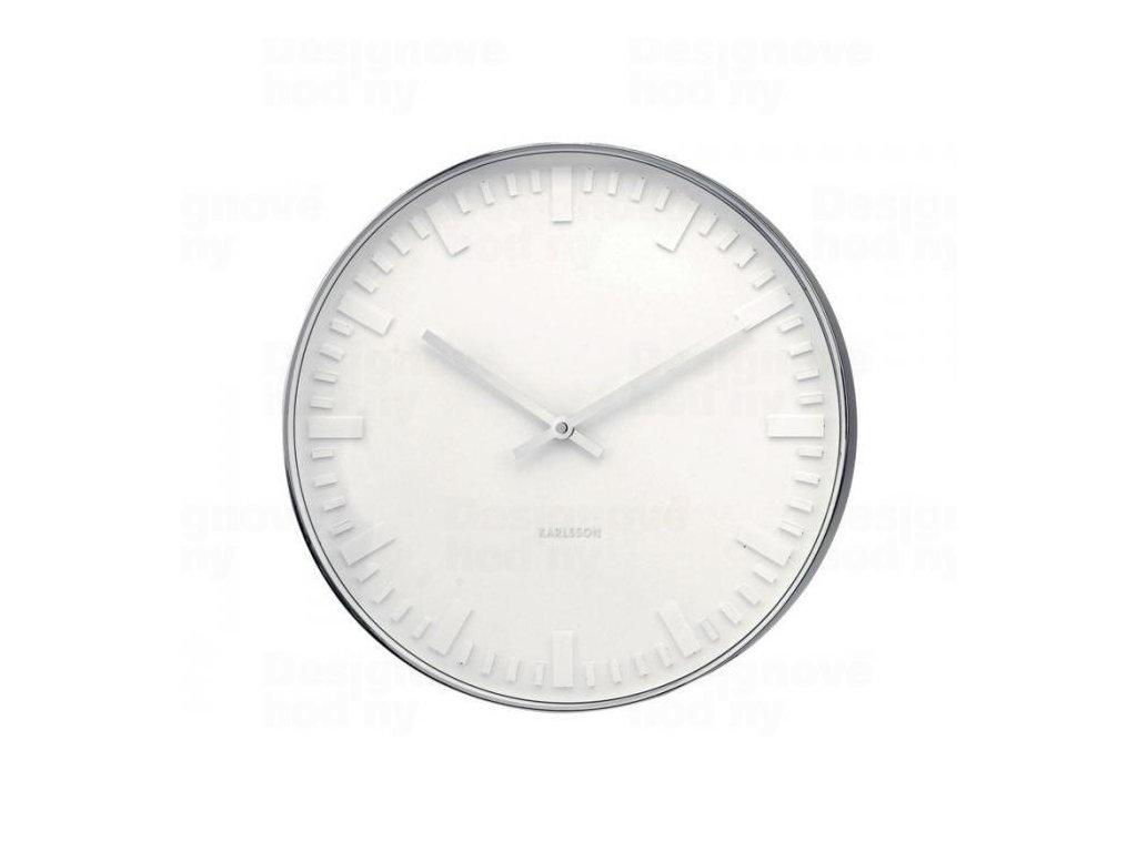 Designové nástěnné hodiny 4382 Karlsson 51cm