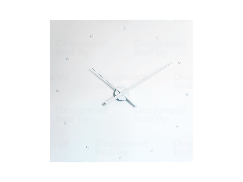 Designové nástěnné hodiny NOMON OJ bílé 80cm