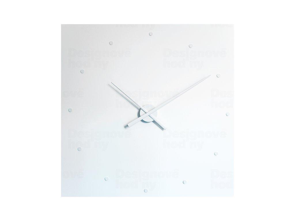Designové nástěnné hodiny NOMON OJ bílé 50cm