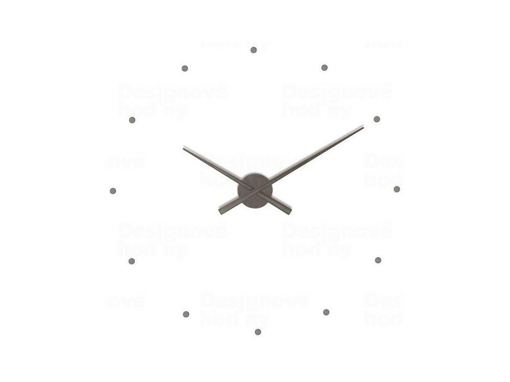 Designové nástěnné hodiny NOMON OJ grafitové 50cm