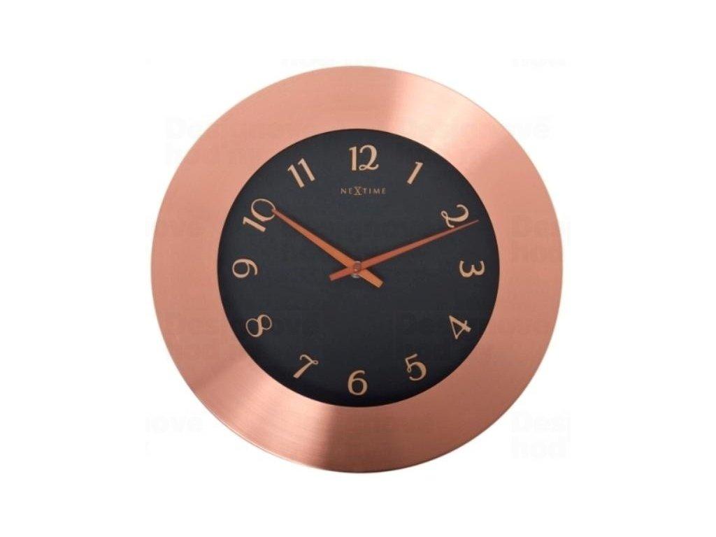 Designové nástěnné hodiny 2979 Nextime Winchester 44cm