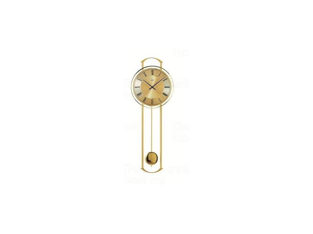 Kyvadlové nástěnné hodiny 7083 AMS 60cm