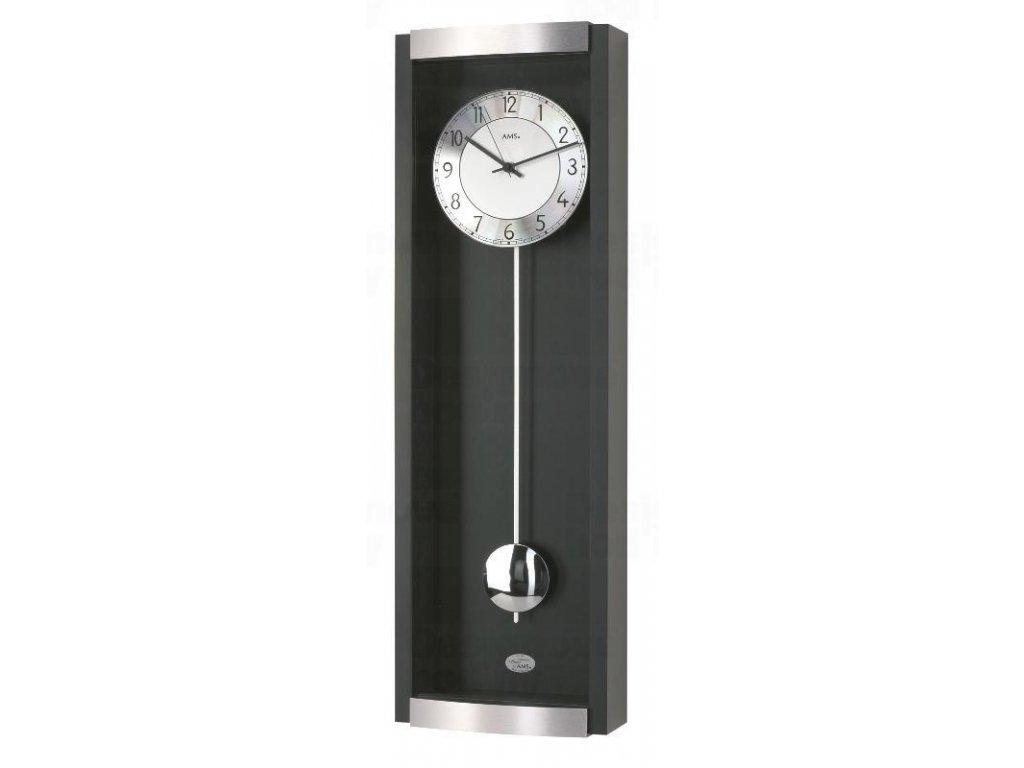Kyvadlové nástěnné hodiny 5285/11 AMS řízené rádiovým signálem 71cm