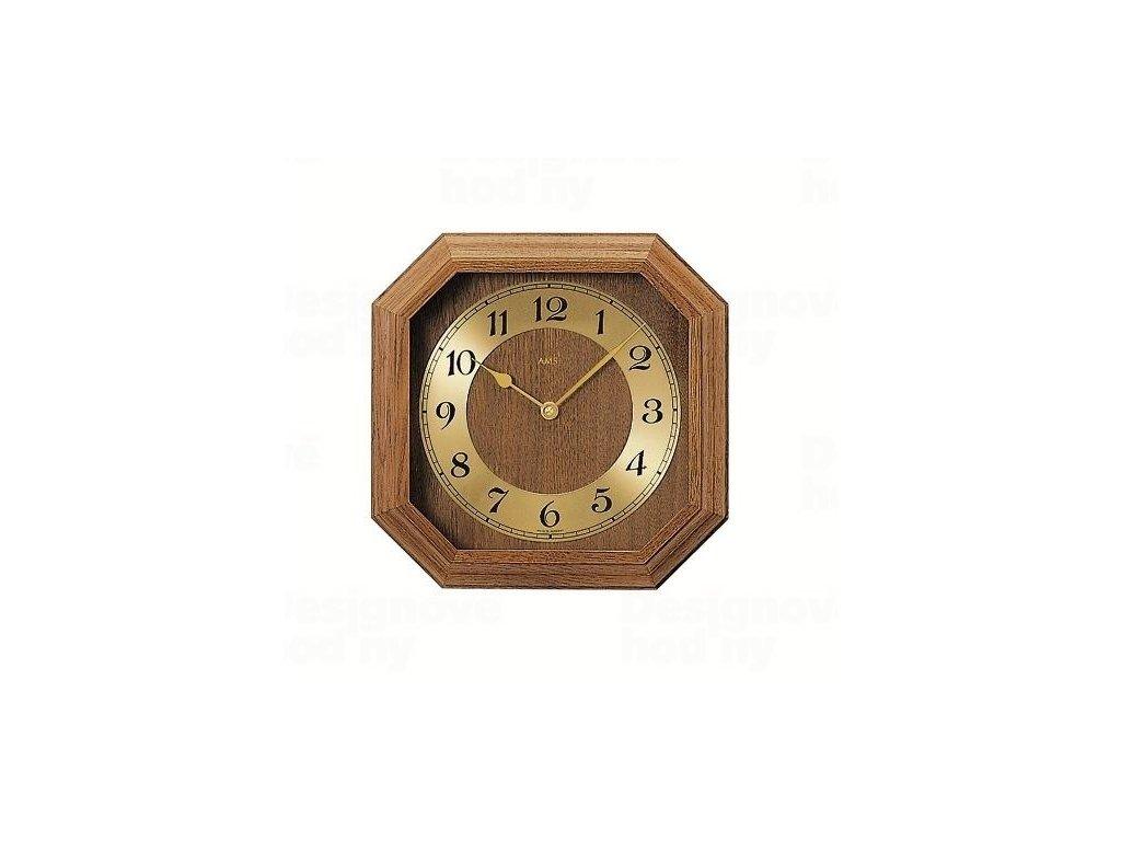Nástěnné hodiny 5864/4 AMS řízené rádiovým signálem 26cm