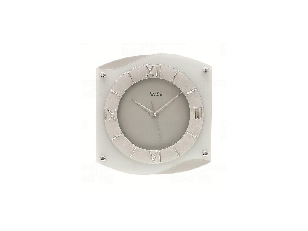 Nástěnné hodiny 9321 AMS 30cm