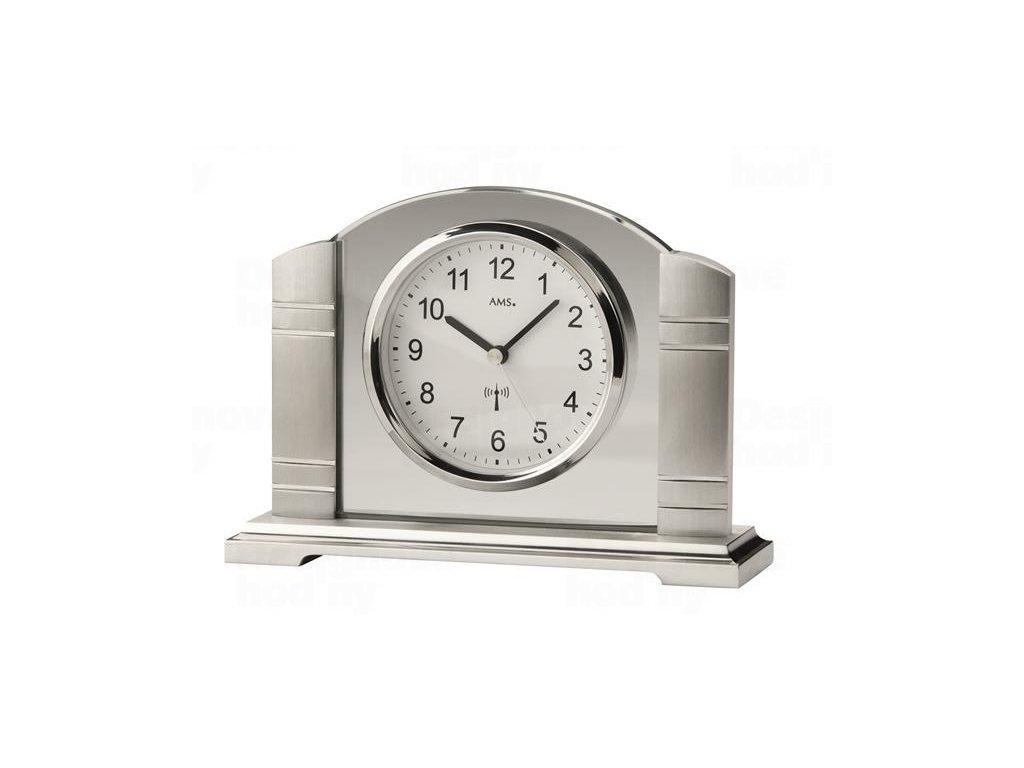 Stolní hodiny 5142 AMS řízené rádiovým signálem 19cm