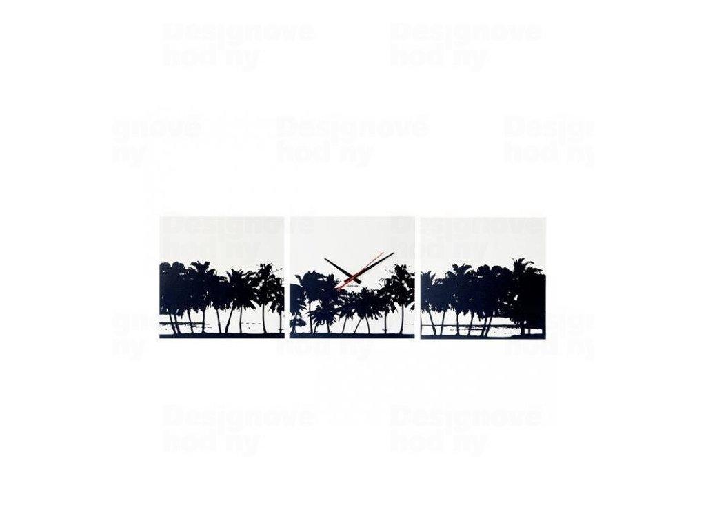 Designové nástěnné hodiny 5484 Karlsson Pláž