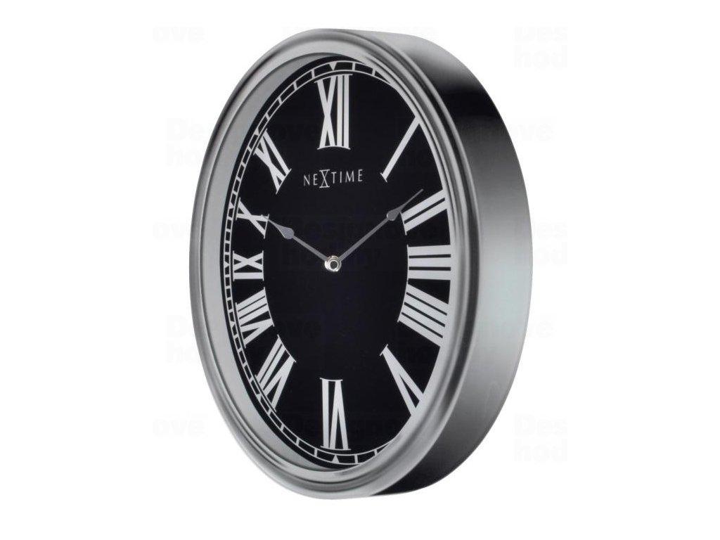 Designové nástěnné hodiny 3075 Nextime Houdini 25x35cm