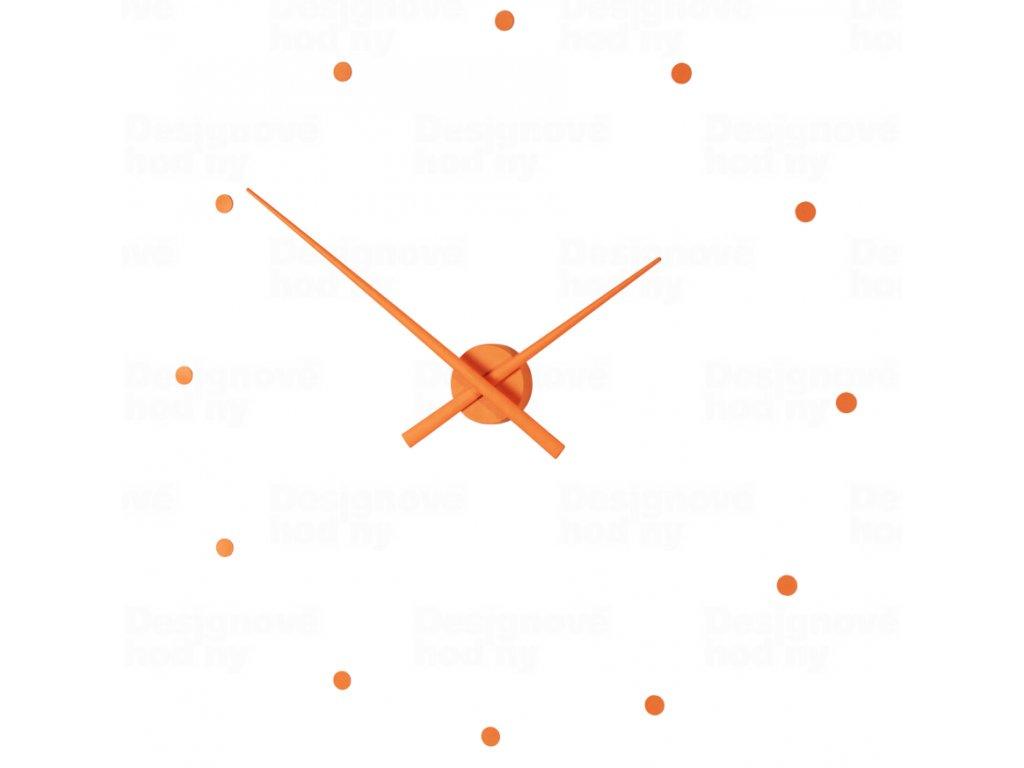 Designové nástěnné hodiny NOMON OJ dýňové 50cm