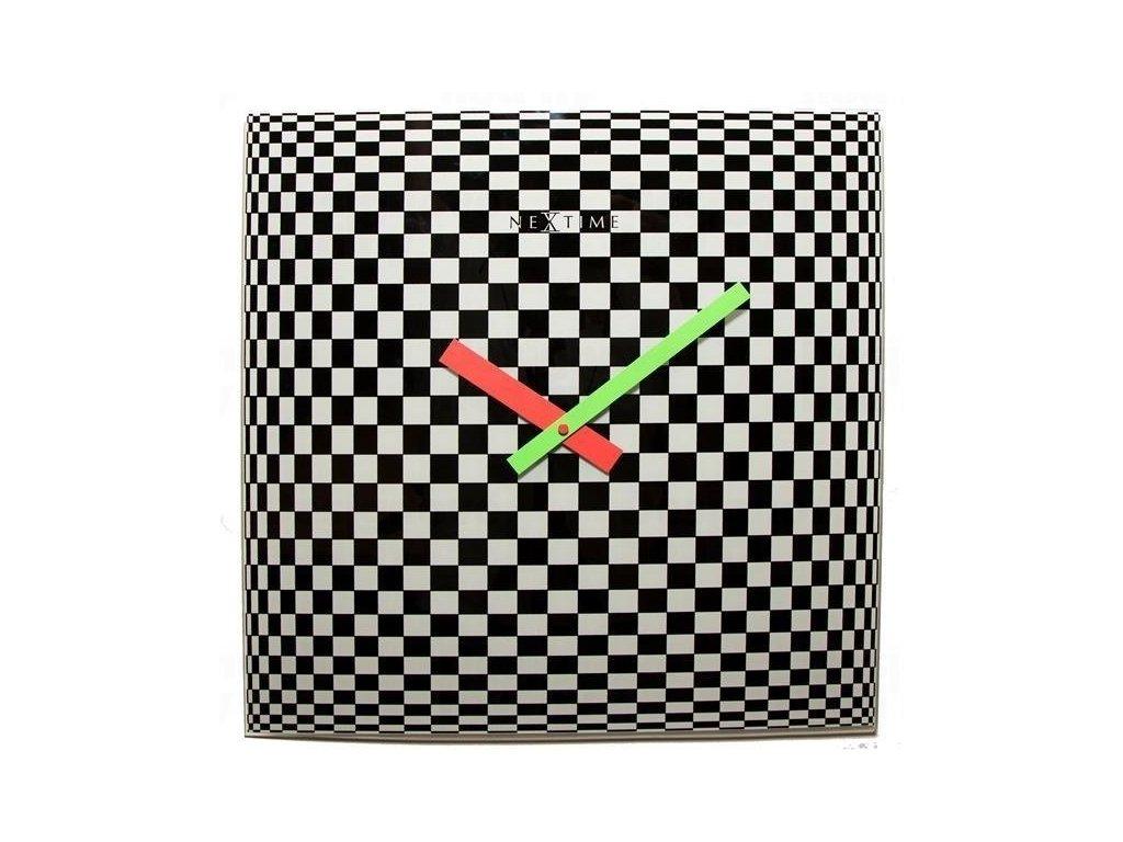 Designové nástěnné hodiny 8178 Nextime Victor 43cm