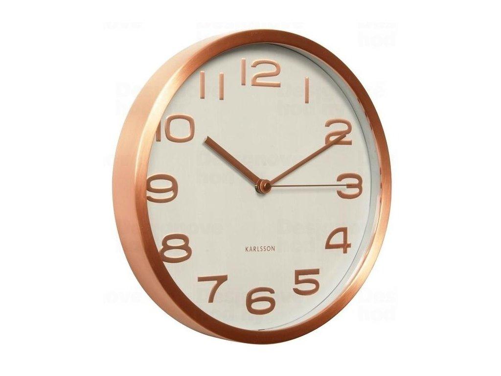 Designové nástěnné hodiny KA5578WH Karlsson 29cm