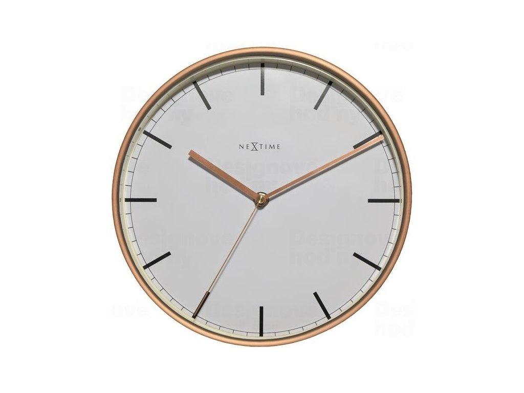 Designové nástěnné hodiny 3121st Nextime Company 30cm