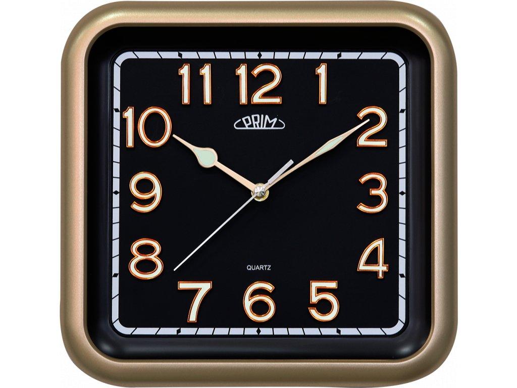 Nástěnné hodiny Prim - Square I