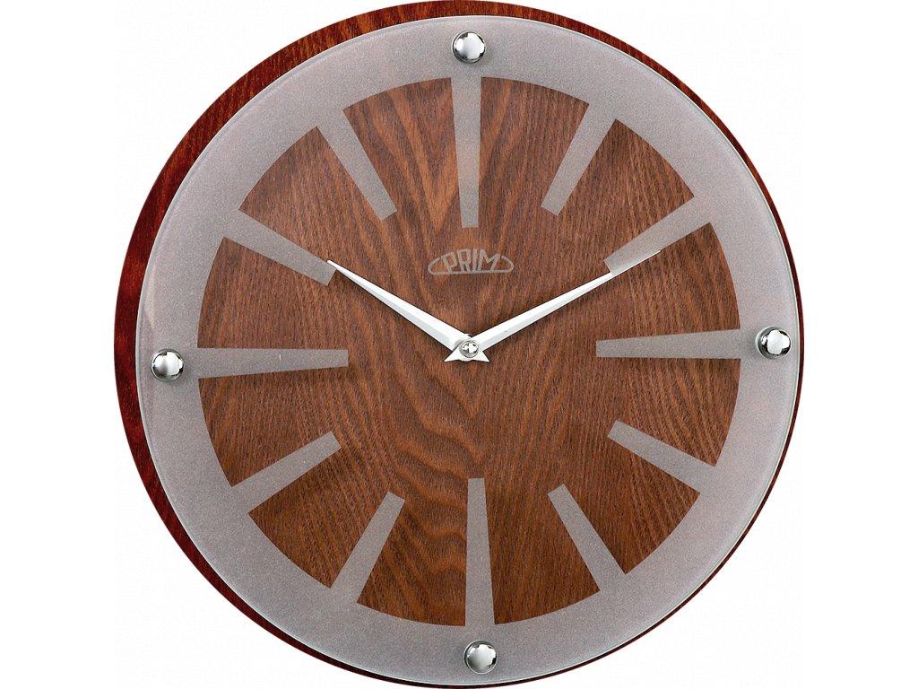 Nástěnné hodiny PRIM Wood Singular I
