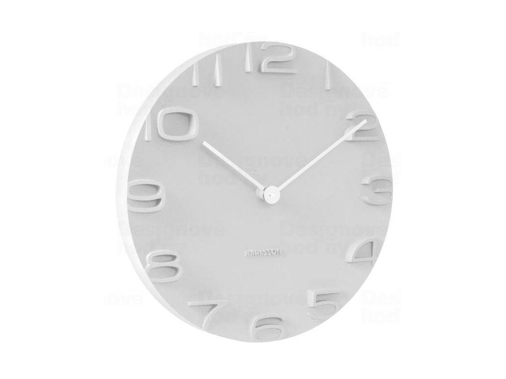 Designové nástěnné hodiny 5311WH Karlsson 42cm