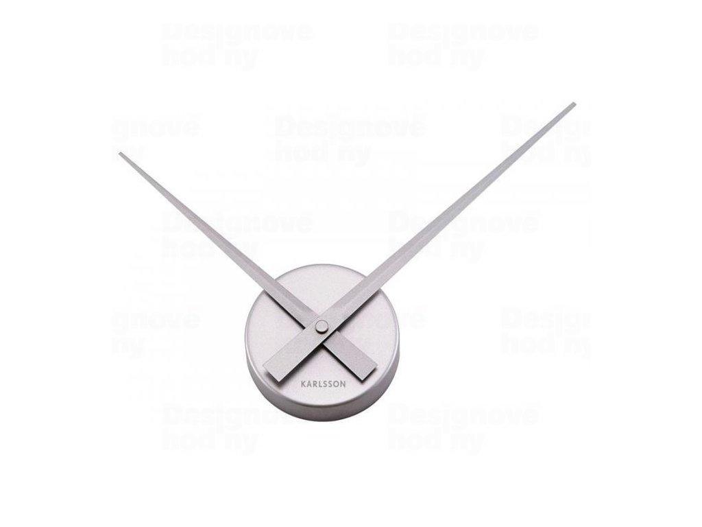 Designové nástěnné hodiny 4348SI Karlsson 44cm
