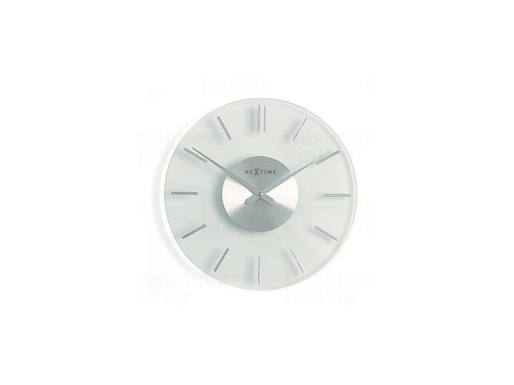 Designové nástěnné hodiny 2632 Nextime Stripe 31cm