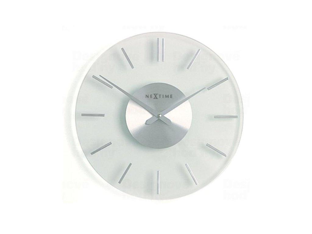 Designové nástěnné hodiny 2631 Nextime Stripe 26cm