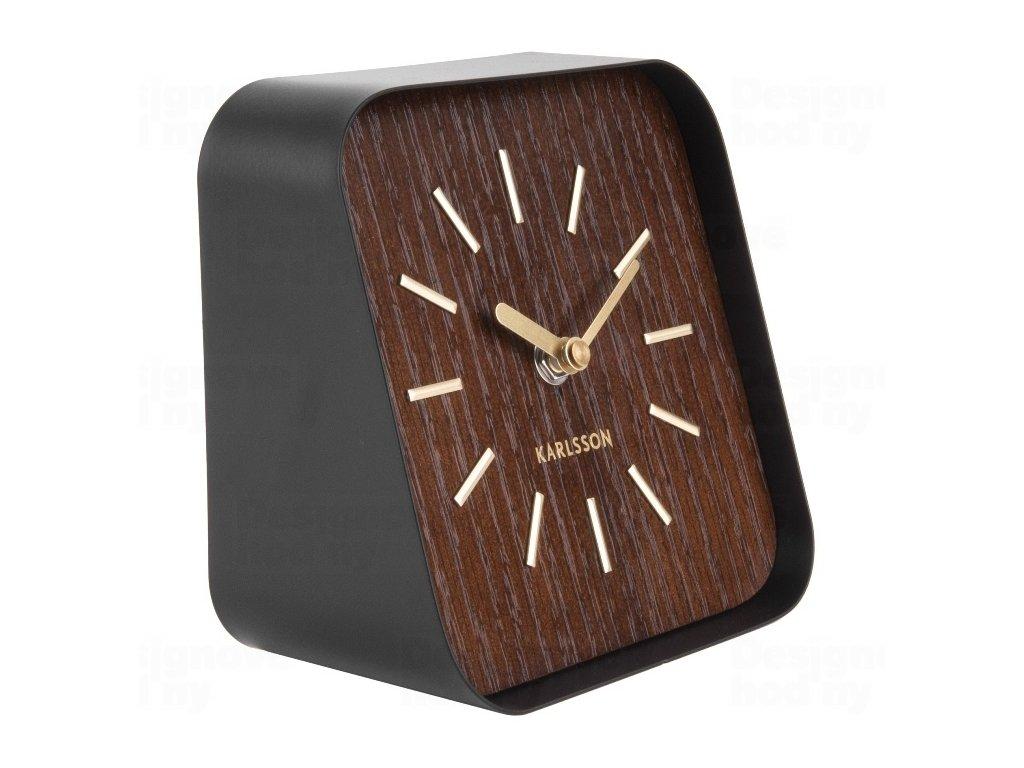 Designové stolní hodiny KA5718DW Karlsson 15cm