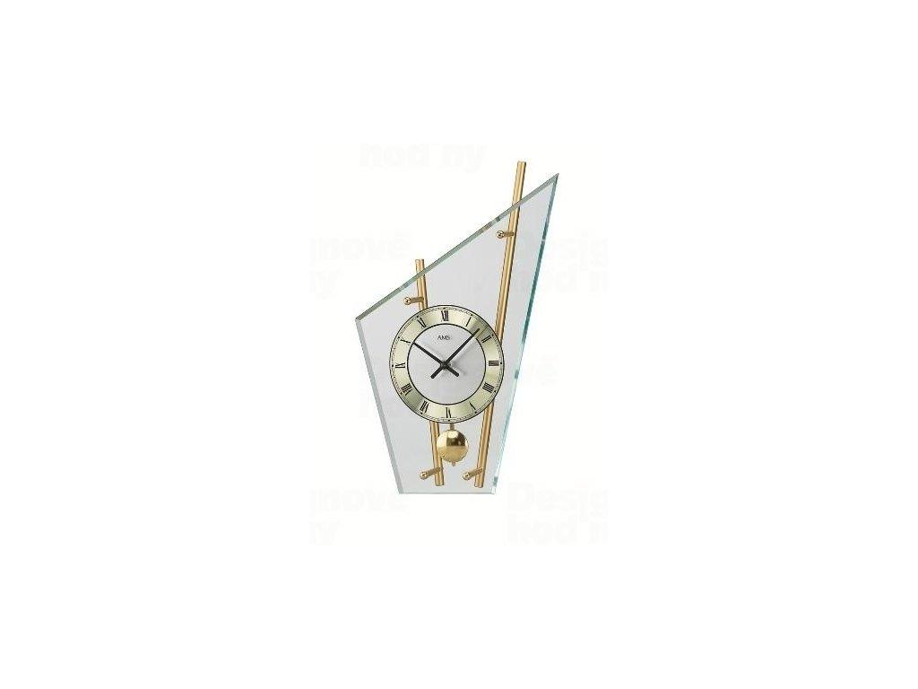 Stolní kyvadlové hodiny 155 AMS 36cm