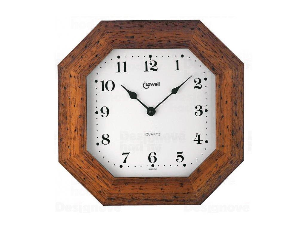 Designové nástěnné hodiny 01748NA Lowell 29cm