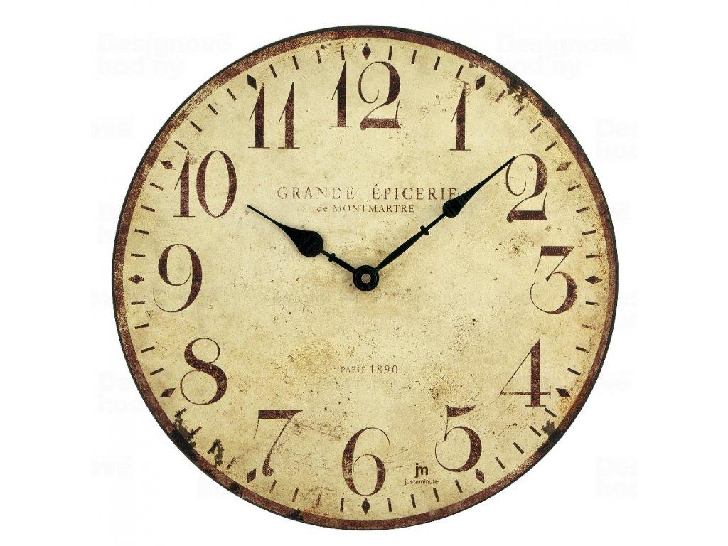 Designové nástěnné hodiny 21410 Lowell 34cm