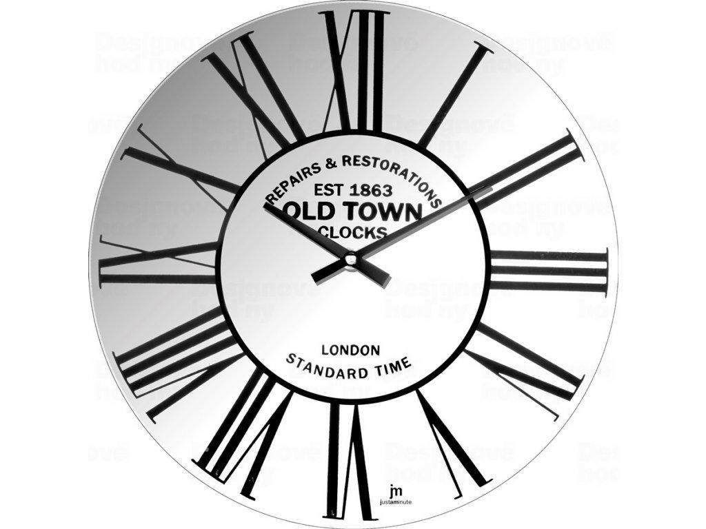 Designové nástěnné hodiny 14880 Lowell 34cm
