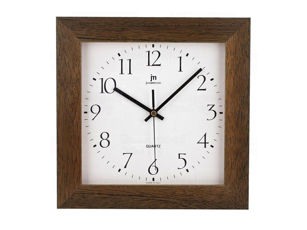 Designové nástěnné hodiny 02821N Lowell 27cm
