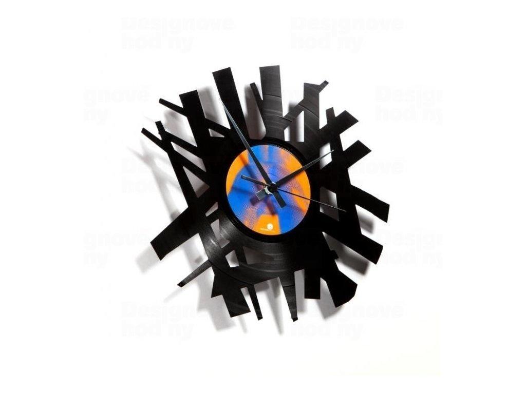 Designové nástěnné hodiny Discoclock 016 Big bang 30cm