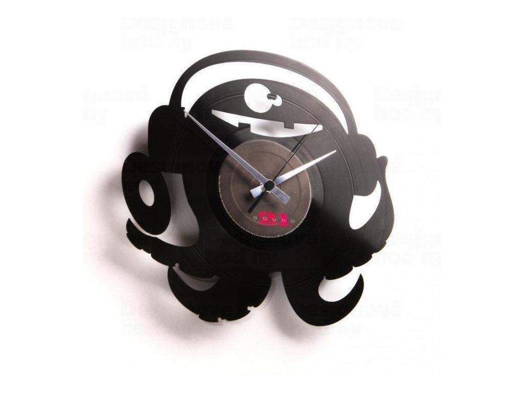 Designové nástěnné hodiny Discoclock 040 DJ Pauly Po 30cm