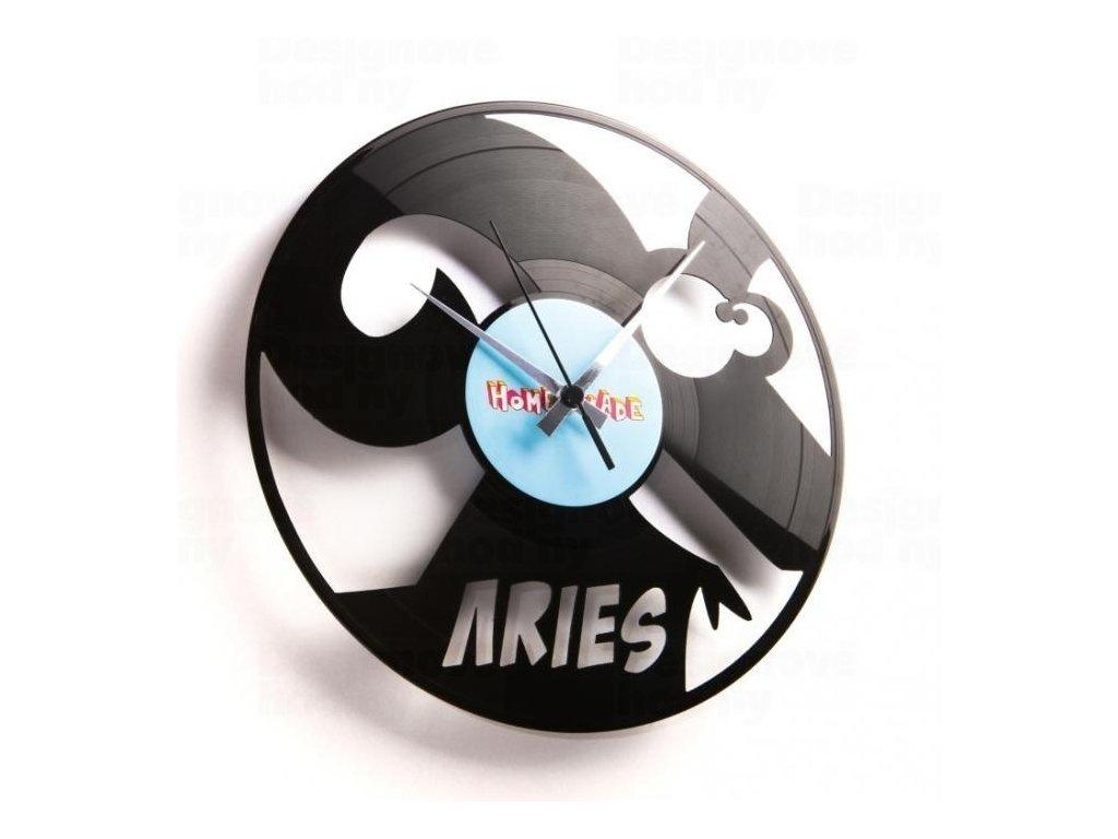 Designové nástěnné hodiny Discoclock Z01 Beran 30cm