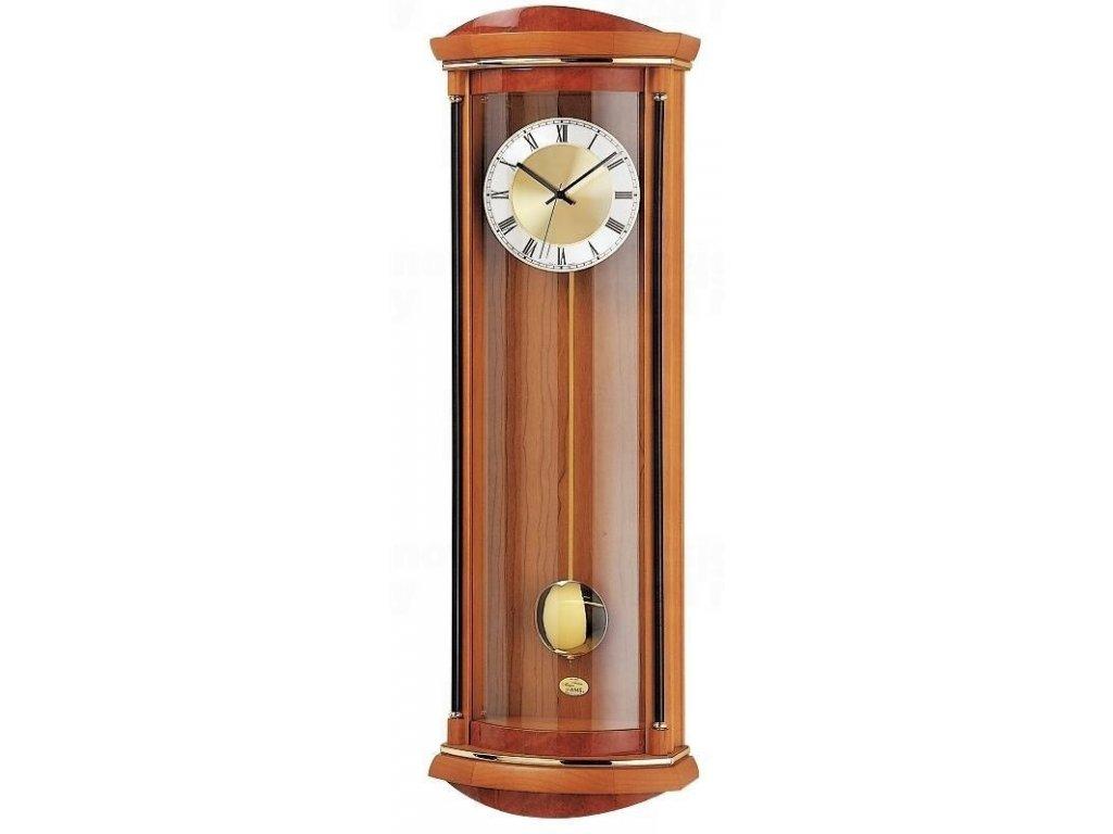 Kyvadlové nástěnné hodiny 5080/9 AMS řízené rádiovým signálem 82cm