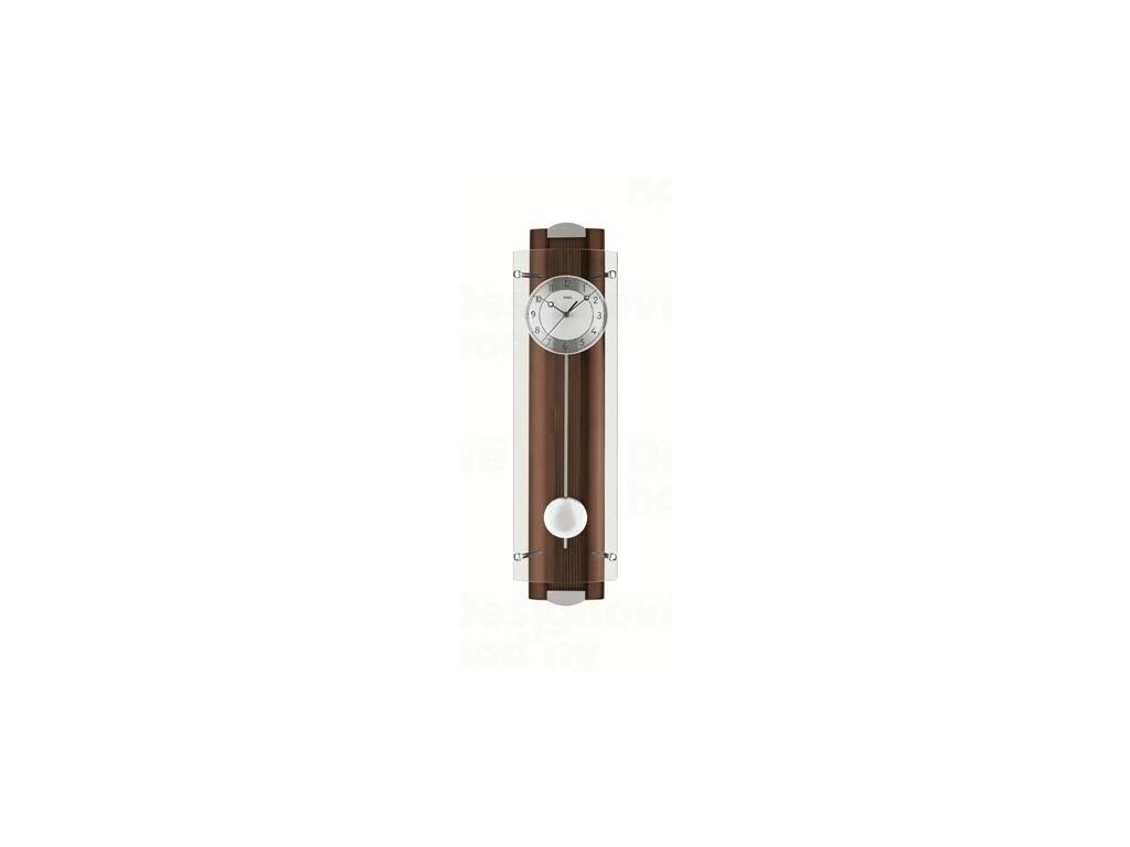 Kyvadlové nástěnné hodiny 5259/1 AMS řízené rádiovým signálem 66cm
