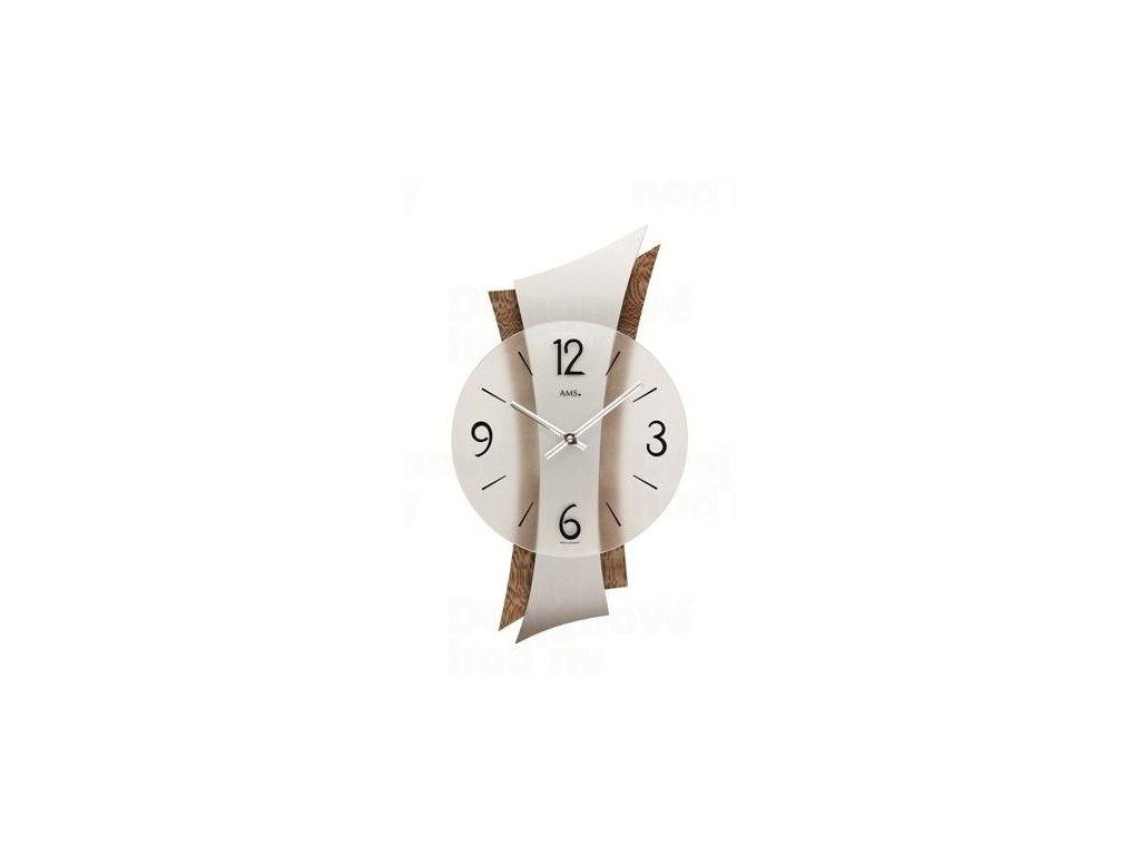 Nástěnné hodiny 9401 AMS 43cm