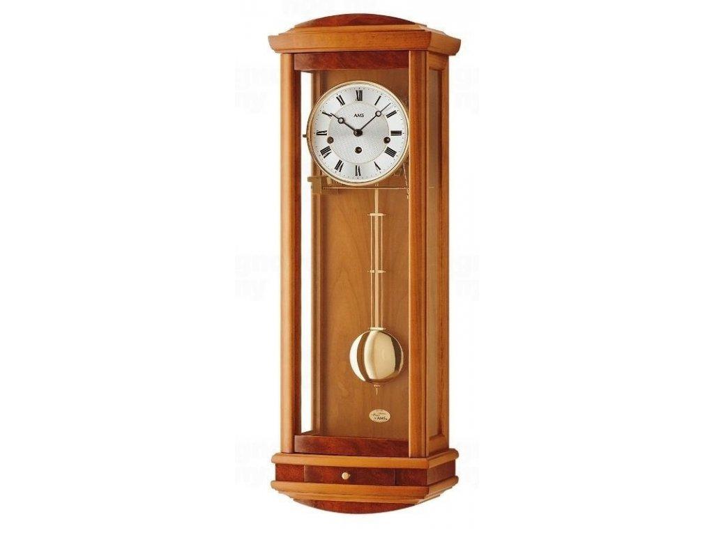 Kyvadlové mechanické nástěnné hodiny 2607/9 AMS 65cm