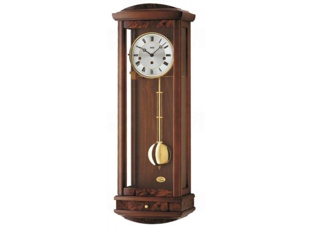 Kyvadlové mechanické nástěnné hodiny 2607/1 AMS 65cm