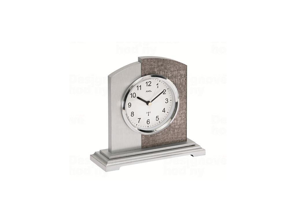 Stolní hodiny 5144 AMS řízené rádiovým signálem 17cm