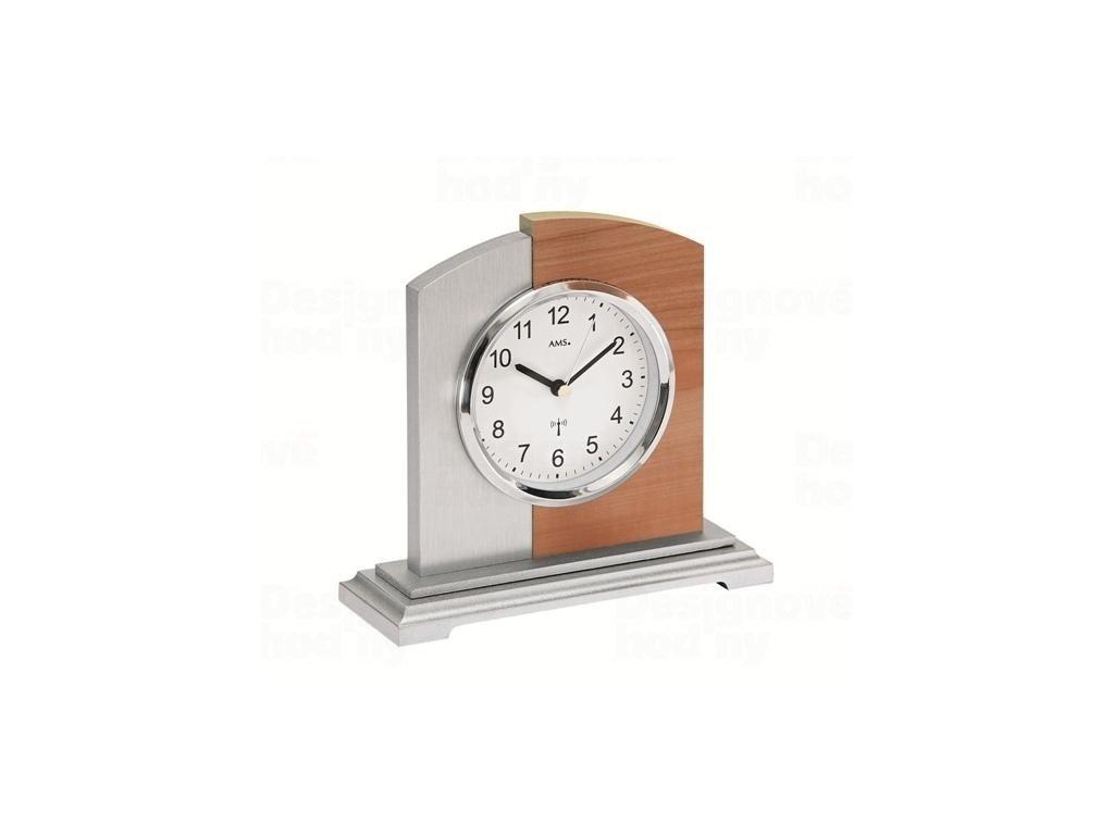 Stolní hodiny 5146 AMS řízené rádiovým signálem 17cm