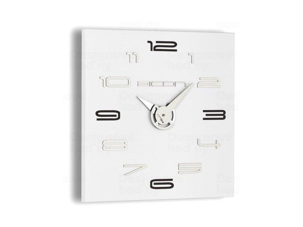 Designové nástěnné hodiny I119WB IncantesimoDesign 40cm