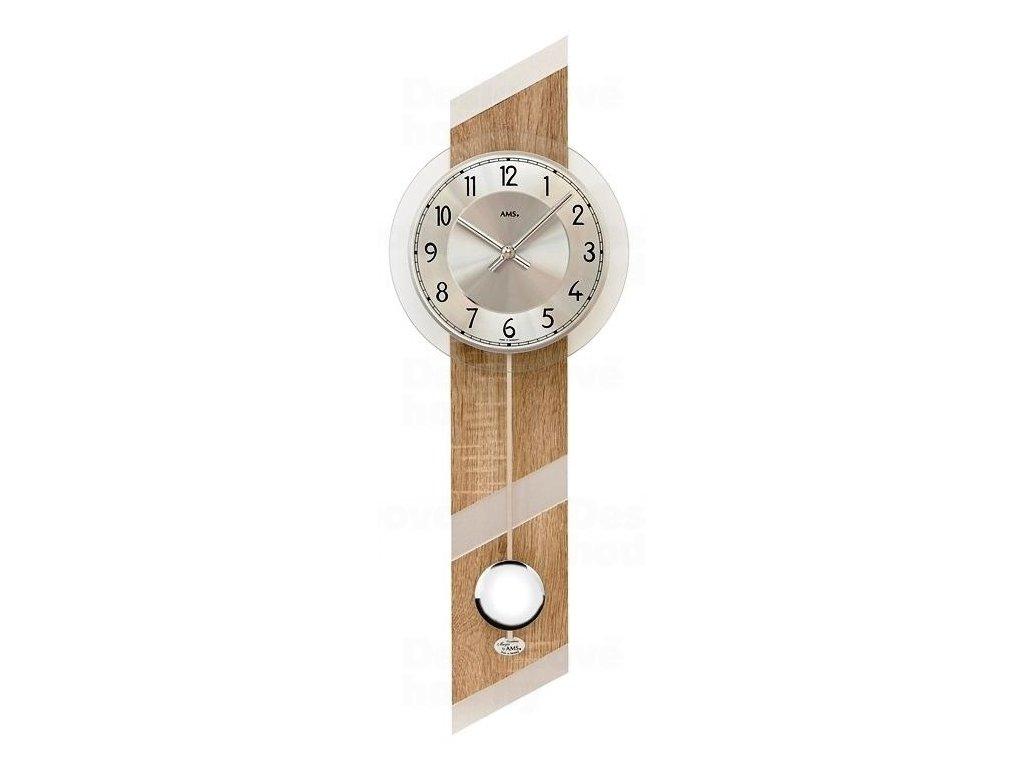 Kyvadlové nástěnné hodiny 7415 AMS 69cm