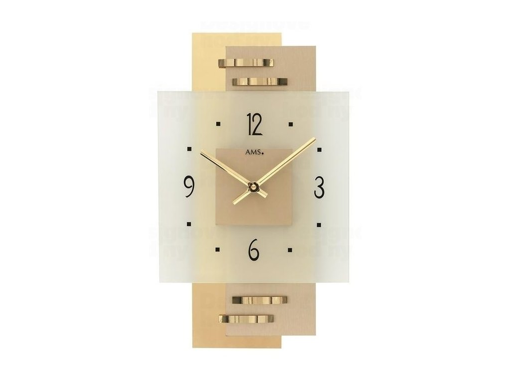 Nástěnné hodiny 9241 AMS 36cm