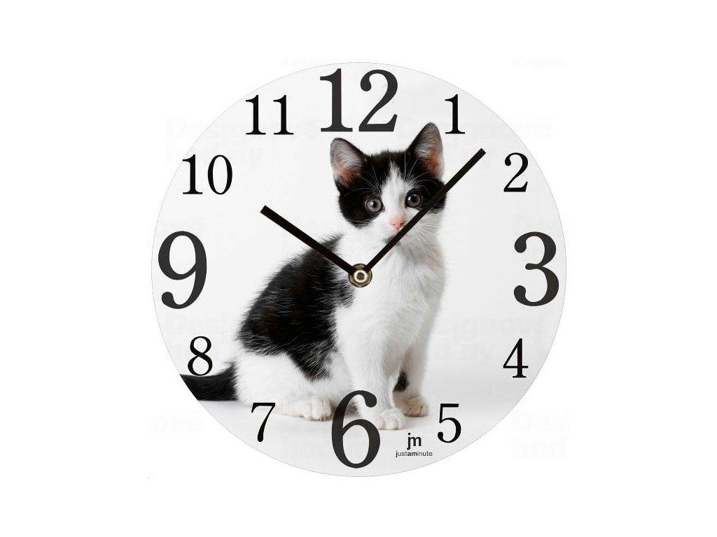 Designové nástěnné hodiny 14844 Lowell 34cm