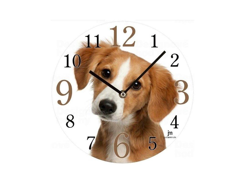 Designové nástěnné hodiny 14845 Lowell 34cm