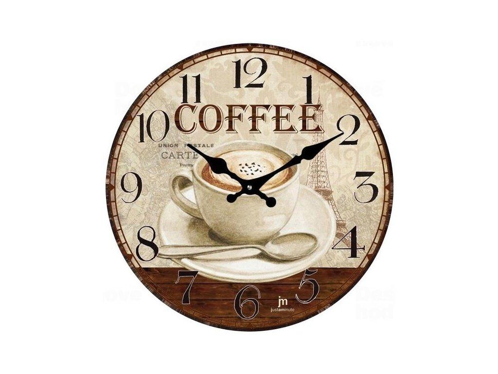 Designové nástěnné hodiny 14858 Lowell 34cm
