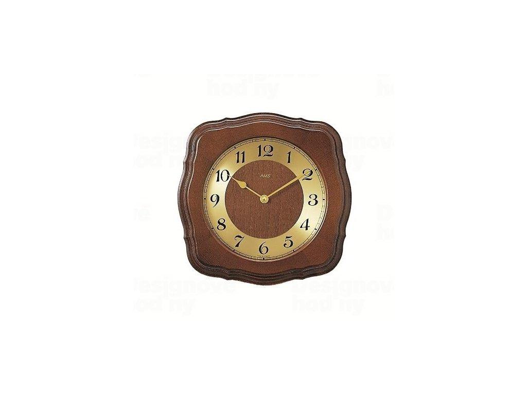 Nástěnné hodiny 5862/1 AMS řízené rádiovým signálem 26cm