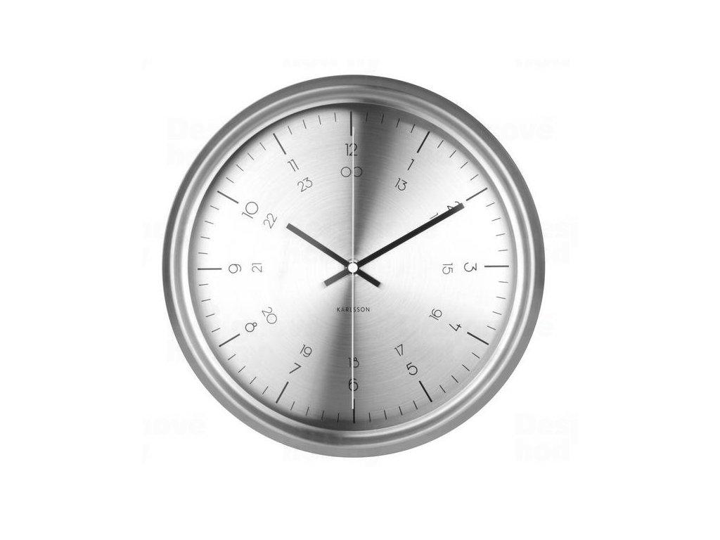 Designové nástěnné hodiny KA5597SI Karlsson 30cm
