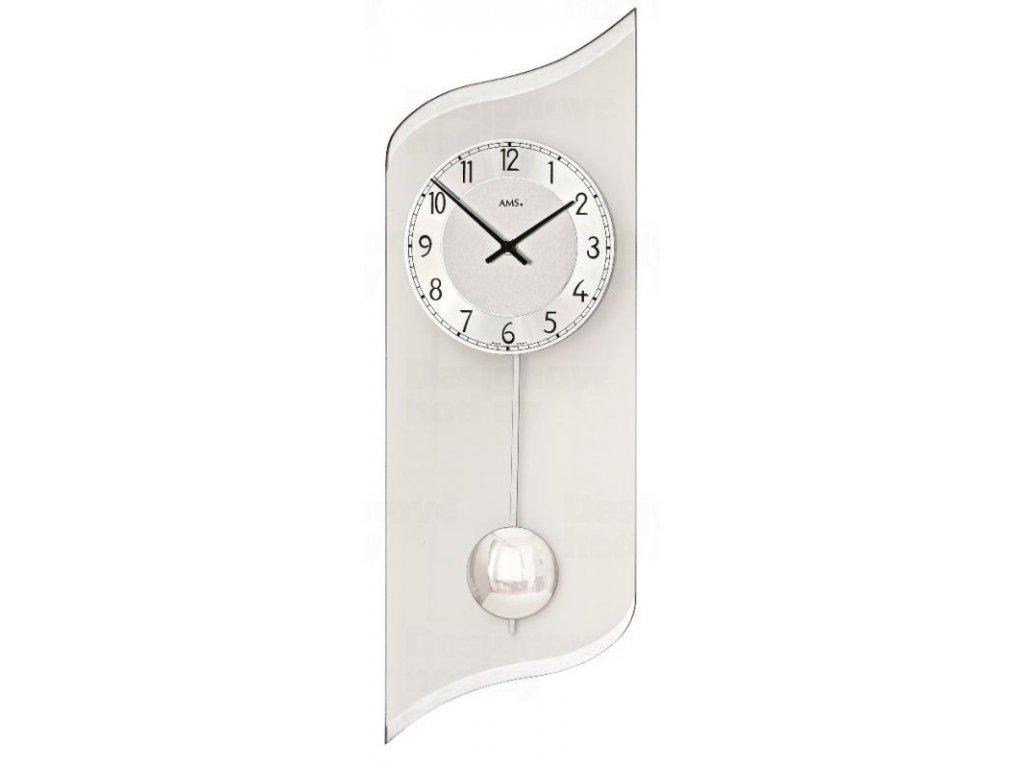 Nástěnné kyvadlové hodiny 7436 AMS 55cm