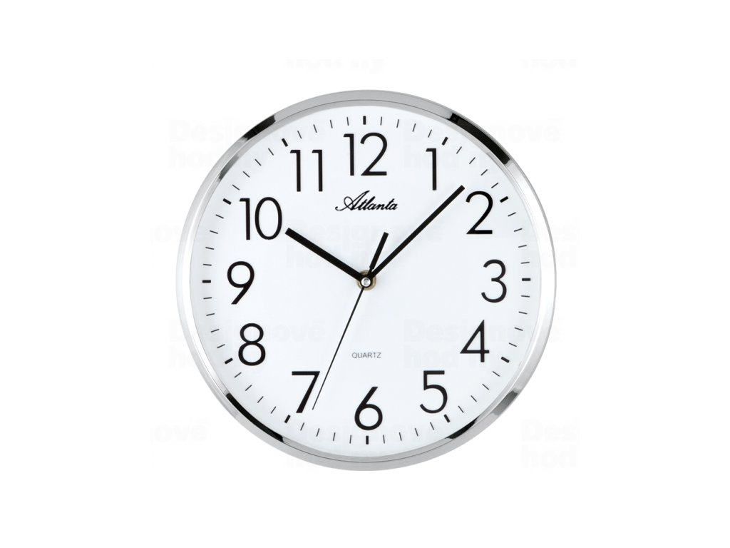 Designové nástěnné hodiny AT4316 32cm