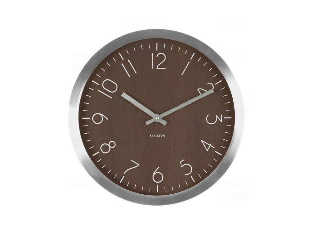 Designové nástěnné hodiny 5609DW Karlsson 35cm